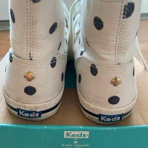 Keds x Kate Spade white high tops